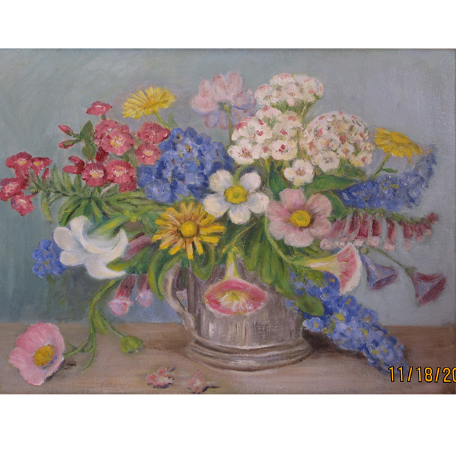 Summer Blooms In A Jug <span>CORNELIA MOLSON</span>