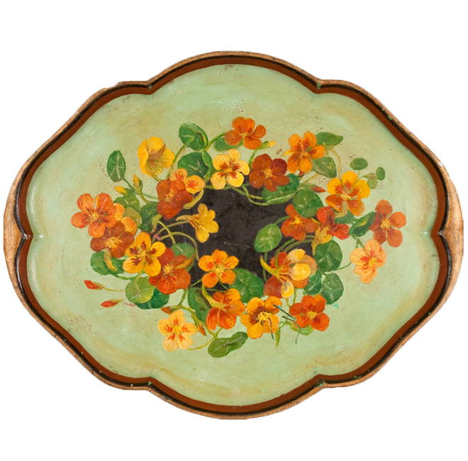 Tray with Varied Blooms <span>HARRIET STAIRS</span>