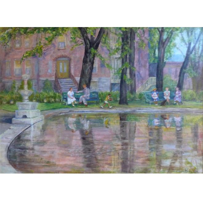 Westmount Park in Summer <span>JANET MACKLAM</span>