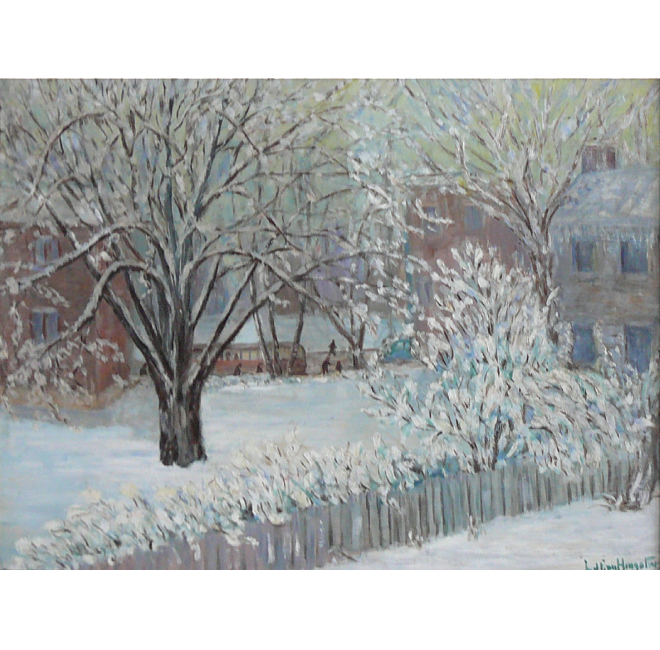 City in Winter <span>DONALD GRAY-DONALD</span>