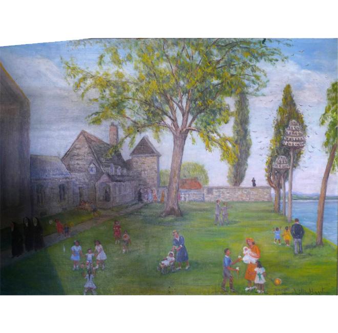 Seminary at Châteauguay <span>MARTHA DALY BARRINGTON</span>