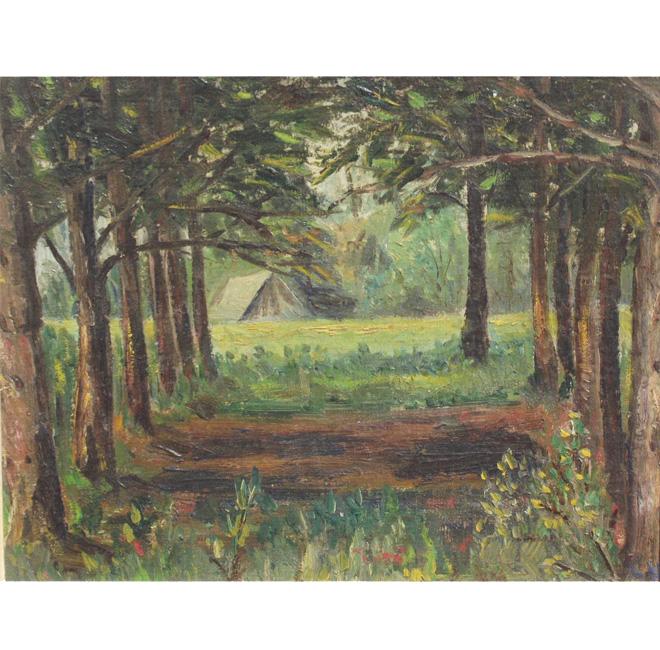 Varennes' Woods <span>HAGUE VAUGHAN</span>