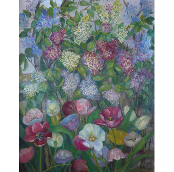 Tulips And Lilacs <span>DAPHNE DOLAN</span>