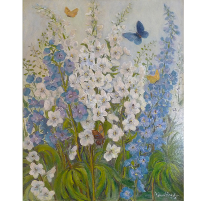 Flowers And Butterflies <span>DAPHNE DOLAN</span>
