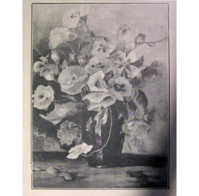 Pansies <span>WEST END ART GALLERY, FEB. 22 1950</span>