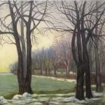 Lakeshore in Winter <span>HAGUE VAUGHAN</span>