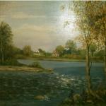 Lake in Fall <span>SANDRA DOLAN</span>