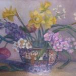 Bouquet In Chinese Vase <span>ANDREA KRISHNAPPA</span>