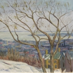Montreal From The Mountain <span>HAGUE VAUGHAN</span>