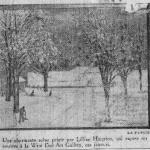 Winter Morning in Westmount<span> LA PATRIE, FEB. 23 1950</span>