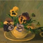 Pansies in a Teacup <span>MARTHA DALY BARRINGTON</span>
