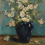 Apple Blossoms In Jug <span>JANET MACKLAM</span>