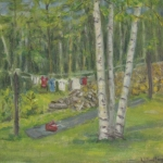 Clothes Line, Magog <span>IN PRIVATE COLLECTION</span>