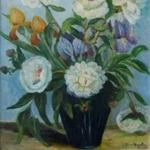 Iris, Lilies, Petunias <span>ST. MARY'S HOSPITAL</span>