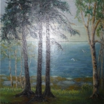 Trees By The St. Lawrence <span>DAPHNE DOLAN</span>
