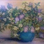 Lilacs and Apple Blossoms <span>ANDREA KRISHNAPPA</span>