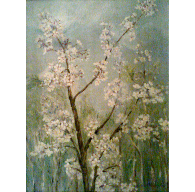 Apple Tree in Bloom <span>GALES & GRAY-DONALD FAMILY</span>